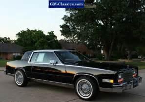 80 Cadillac Eldorado 1985 Cadillac Eldorado Biarritz Matt Garrett