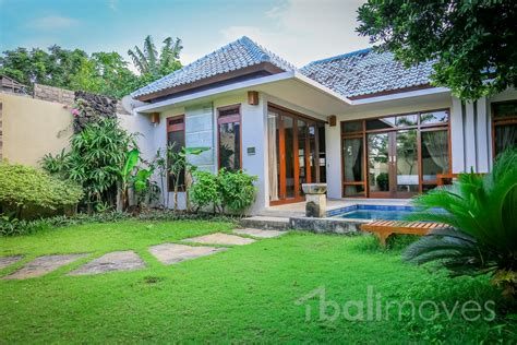 two bedroom house with beautiful garden sanur s local three bedroom villa with decent garden on 300m2 land
