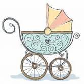 Poussettes de bébé, Illustrations and Poussettes on Pinterest