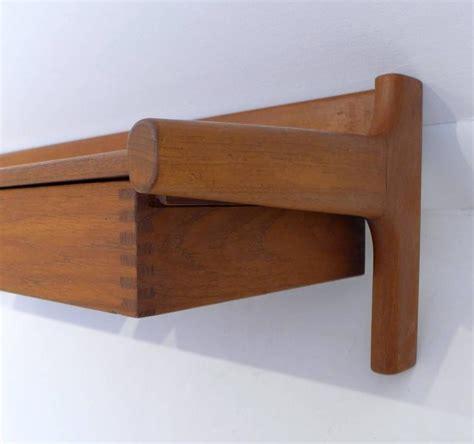 Teak Wall Shelf by Teak Wall Shelf By Drylund For Sale At 1stdibs