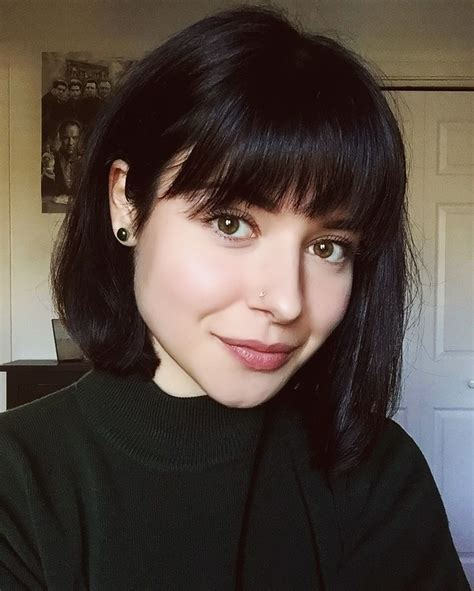 are bangs okay with medium short hair on 50 year old french bob haircut with bangs natural hairstyles short
