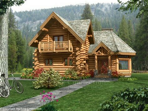 Log Cabin House Plans With Photos guesthouse log home design by the log connection
