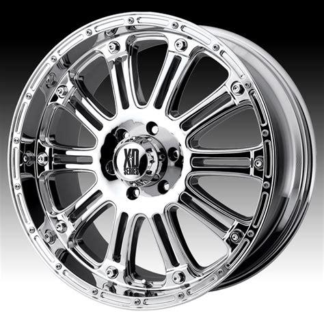 chrome xd wheels kmc xd xd795 hoss chrome 20x9 8x6 5 18mm xd79529080218