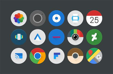 Celandia Icon Pack Android App - Uplabs