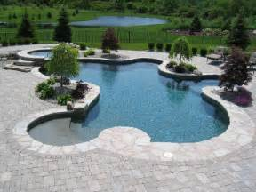 in ground pools aquascapes home