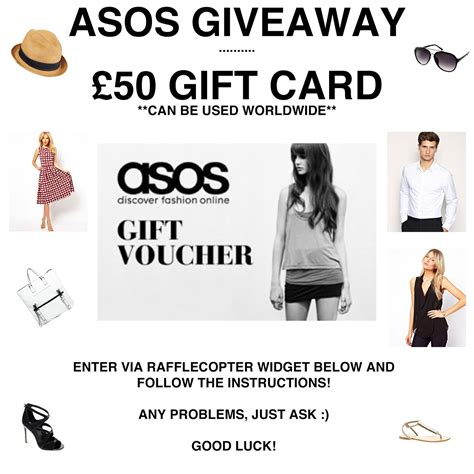 Asos Gift Card - 20 effective tips to reward your regular visitors on your ecommerce website