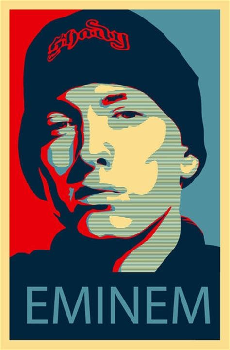 printable rap poster eminem art print by thomas moore on artflakes com pop