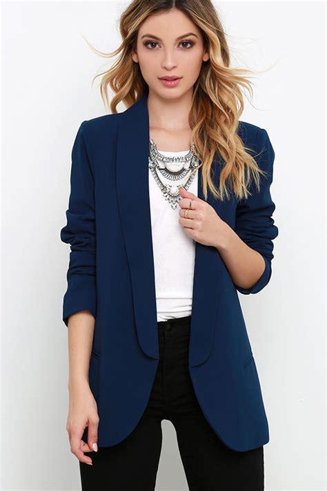 Dress Blazer Marun navy blue blazer sleeve top jacket 64 00