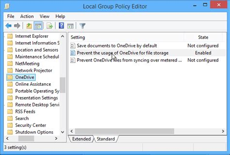 onedrive for business gpo templates how to hide or disable skydrive onedrive in windows 8 1