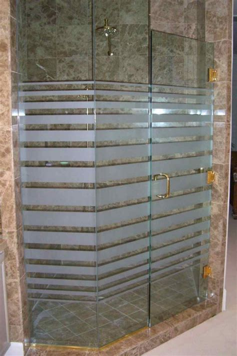 Etched Glass Shower Door Designs Geometric Designs Page 3 Of 3 Sans Soucie Glass