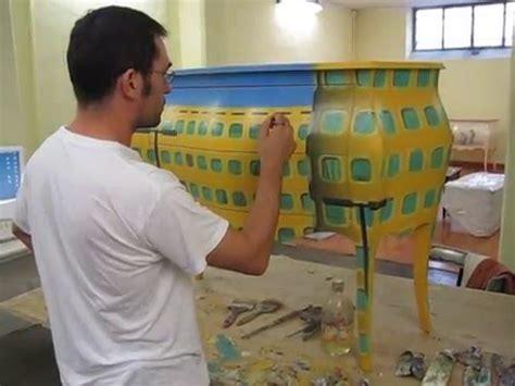 mobili decorati a mano mobili dipinti a mano italian artwork furniture interior