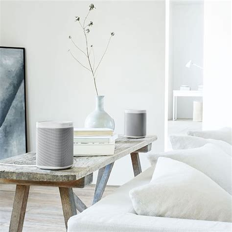 sonos bathroom sonos play 1 wireless speaker west elm