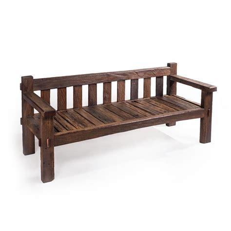 Kursi Besi Panjang kursi bangku panjang kayu ulin rustic saga furniture gallery