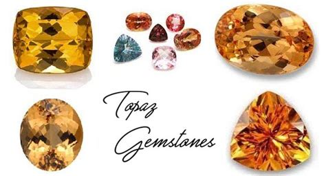 colors of topaz different colors of topaz gemstones with names and pictures