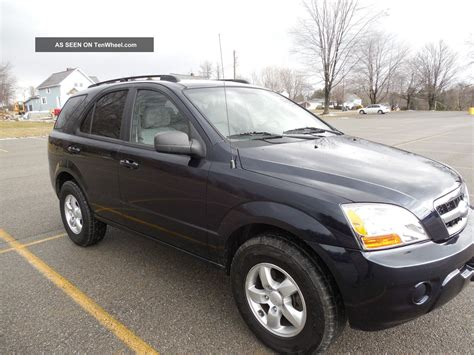 What Of Gas Mileage Does A Kia Sorento Get 2009 Kia Sorento Lx Sport Utility Suv 4x4 4 Door V6