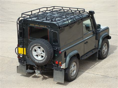 Defender Roof Rack by Safety Devices G4 Expedition Roof Rack Defender 90
