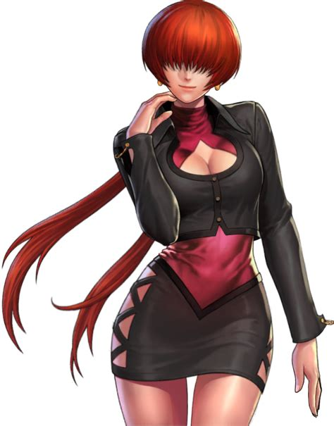 shermie  king  fighters artwork page
