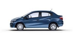 new car honda amaze 2016 honda amaze facelift price specs mileage images