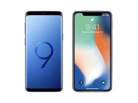 9 iphone x pourquoi choisir un samsung galaxy s9 au lieu d un iphone x frandroid