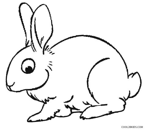 Printable Rabbit Coloring Pages For Kids Cool2bkids Rabbit Color Pages