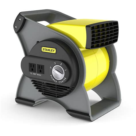 Stanley 655704 High Velocity Blower Fan Yellow 1 Lasko