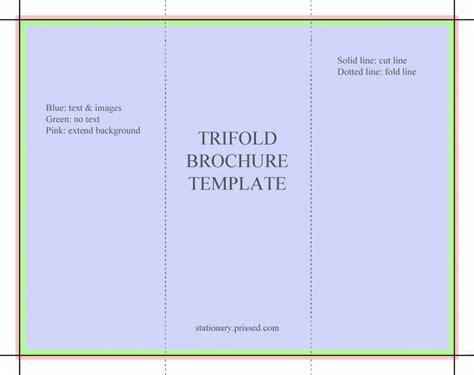 Free Tri Fold Brochures Templates (6)   Best Agenda Templates