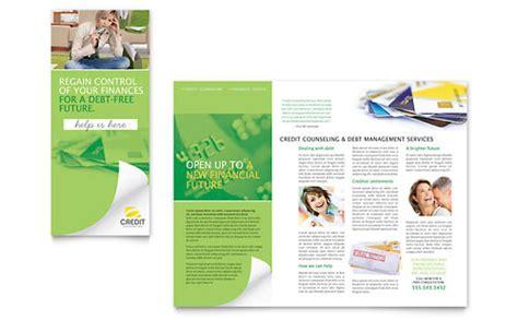 microsoft office tri fold brochure template debt management tri fold brochure templates word