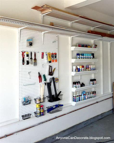 Unique Garage Storage Ideas by 30 Great Diy Ideas For Garage Storage And Organization