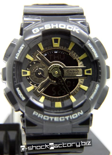 G Shock Ga 110 g shock ga 110 limited edition black gold by www