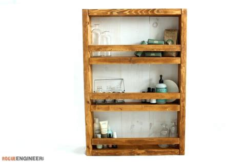 Wall Shelf Plans Free by White Apothecary Wall Shelf Featuring Rogue Engineer