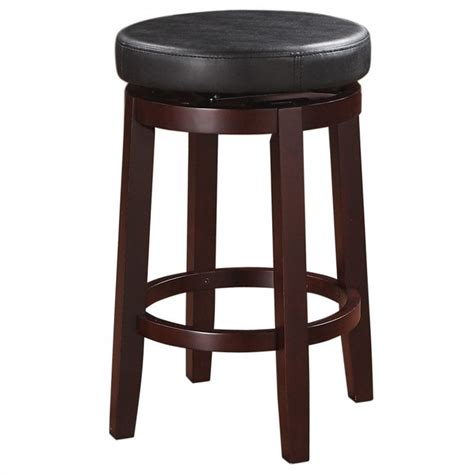 Linon 24 In Stool by Linon 24 Quot Counter Stool In Black 98352kblk 01 Kd