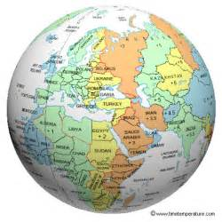 world time zone globe