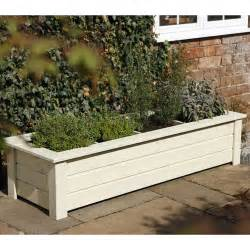 garden planters forest garden bamburgh herb planter 4 compartments