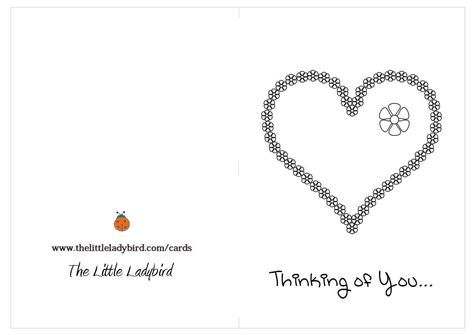 free thinking of you coloring page thelittleladybird com