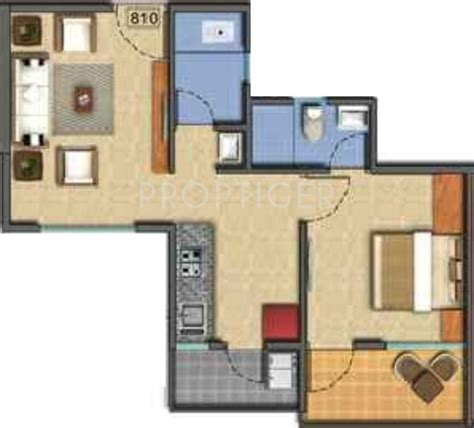 610 sq ft 1 bhk floor plan image gaj avenue available 610 sq ft 1 bhk 1t apartment for sale in sara builders