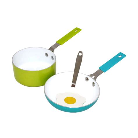 Oxone 3pc Mini Fry Pan Set Spatula Ox 81 jual oxone ox 81 mini cookware set panci dan wajan 3 pcs