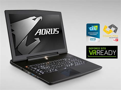 Vr Laptop aorus x7 dt gaming laptop now available for vr enthusiasts legit reviews