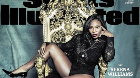 serena williams is named sports illustrated s 2015 sportsperson of the year some are angry that