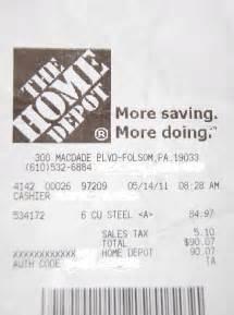 home depot receipt template home depot raising regular sales prices during