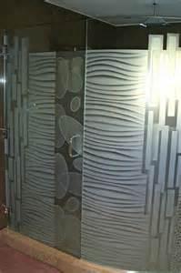 shower door glass patterns frameless shower enclosures sans soucie glass
