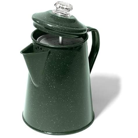 GSI Outdoors Enamelware Coffee Pot   8 Servings of Coffee   REI.com