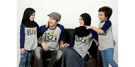 Keluarga Family For Biru Abu jual baju family kaos keluarga muslim ziyata