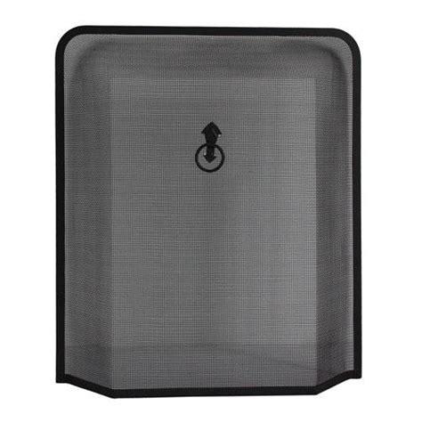 black iron guard fireplace screen mesh 2 designs