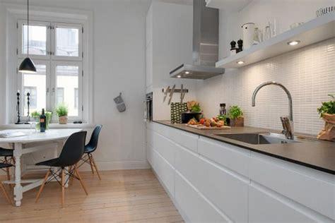 imagenes completamente blancas cocinas blancas y negras cocina blanca suelos y blanco