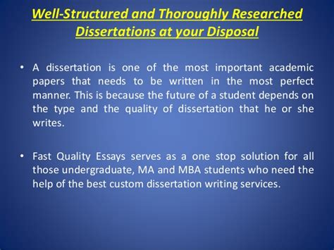 Mba Top Up Dissertation Only by Fast Quality Essays Custom Dissertation Writing Service