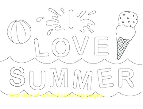 last day of school coloring pages day of school coloring pages week of school