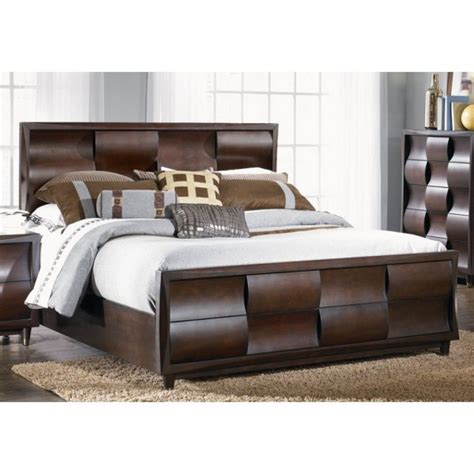 wave bedroom set the wave bedroom bed dresser mirror king b1794