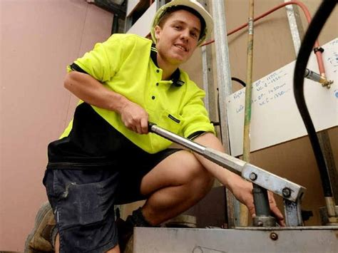 How Is A Plumbing Apprenticeship by Rocky Among 16 New Apprentices Starting At Jm