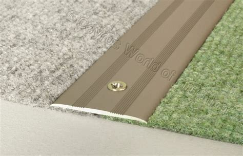 FLAT ANODISED ALUMINIUM DOOR FLOOR BAR TRIM THRESHOLD 35mm