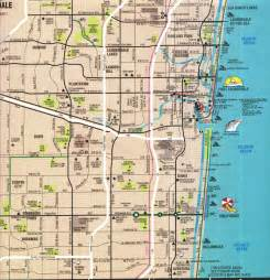 map fort map of ft lauderdale florida travels gt